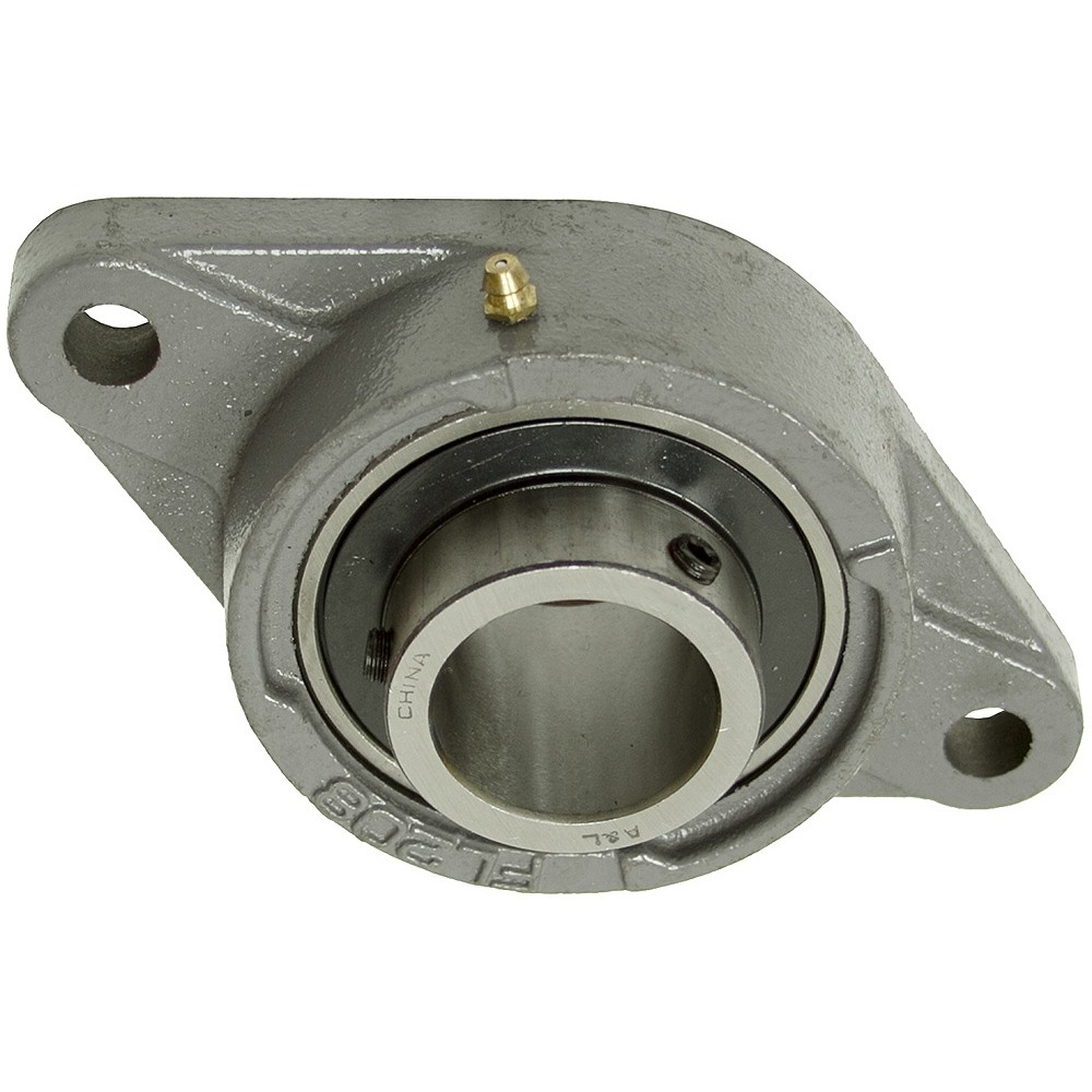2 Inch 4 Bolt Flange Bearing with Lock Collar 211 Housing